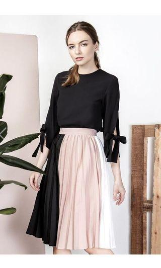 BNWT And Well Dressed Eclipse Tricolor Skirt Size S