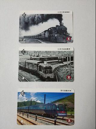 2010年 MTR 港鐵 鐵路百週年 紀念車票