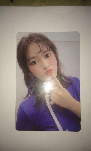 [WTT] IZ*ONE YUJIN HEART*IZ PHOTOCARD