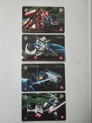 2010年 MTR 港鐵 x Gundam 紀念車票