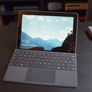 surface go 4gb+64gb with black type cover (95% new)