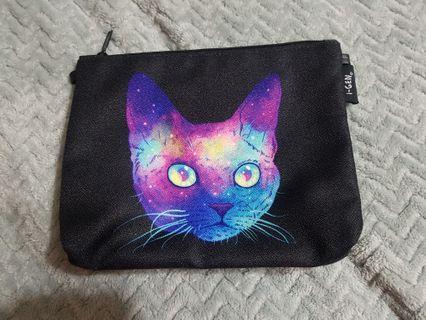 🚚 galaxy cat bag/pouch/pencil case