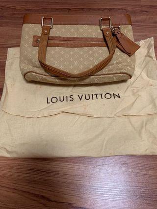 🚚 LOUIS VUITTON Beige Monogram Mini Lin Lucille PM TST Bag