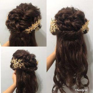 Makeup + hairdo