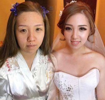🚚 Bridal makeup and hairstyle