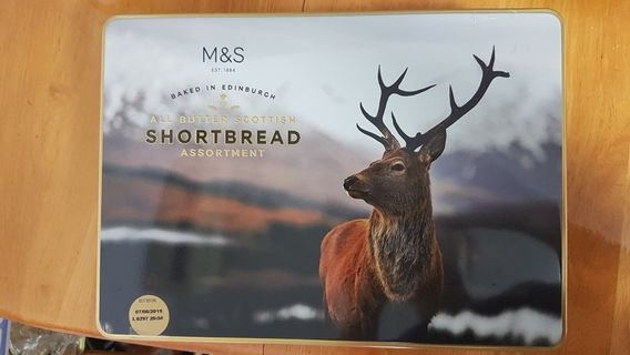 M&S All Butter Scottish Shortbread Assortment   650g
