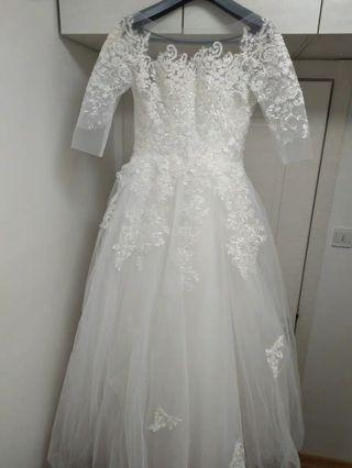 Elegant Wedding Gown #mgag101