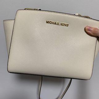 Authentic Michael Kors Off White Crossbody / Sling bag