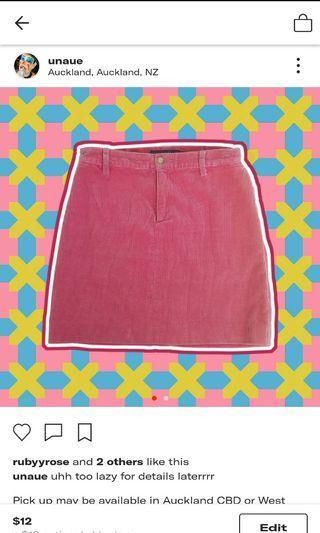 Ralph Lauren - Corduroy Skirt