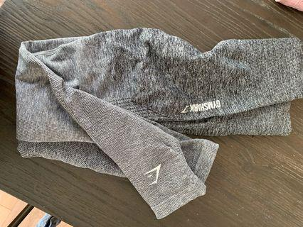 Gymshark grey ombré leggings