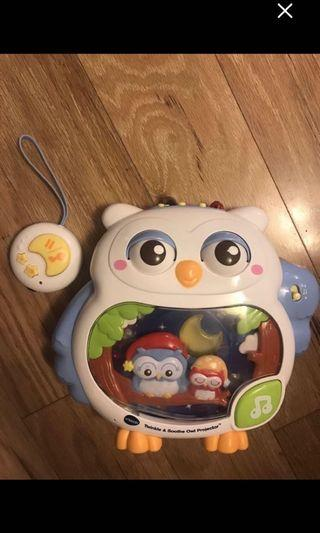 Vtech Twinkle Owl pojector with remote