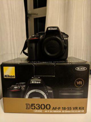 Nikon D5300 Body (Tags: D5600 D5500 D5200 D3500 D3400 D3300)