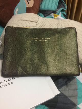 🚚 Marc Jacobs 美式復古化妝包 收納包 手拿包