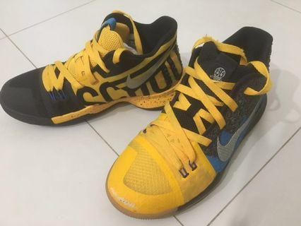 🚚 Nike Kyrie 3 What The Basketball Shoes (2nd hand - Big Boys)