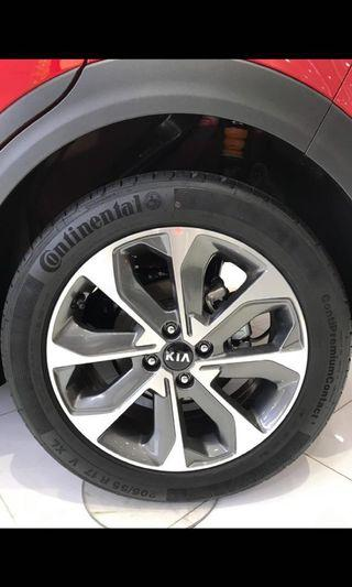 """Kia 17"""" RIMS ONLY for sale!"""