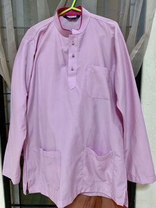 Baju Melayu Orlando light purple