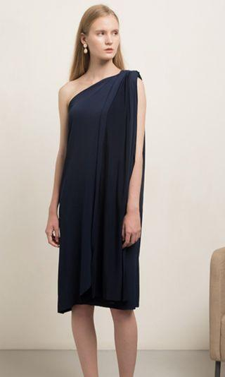 Goya Midnight Dress in Blue