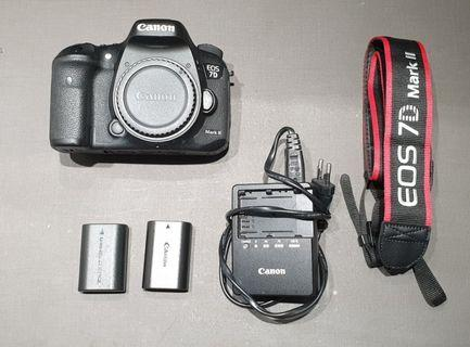 Canon 7Dii (mark 2) body only