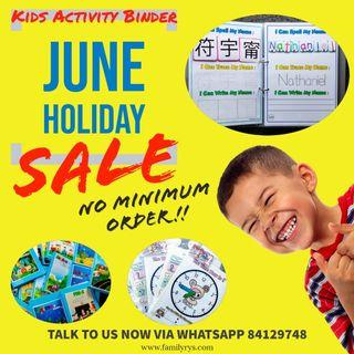 Kids Activity June GroupBuy