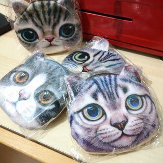 Furry Cat Coin Purse