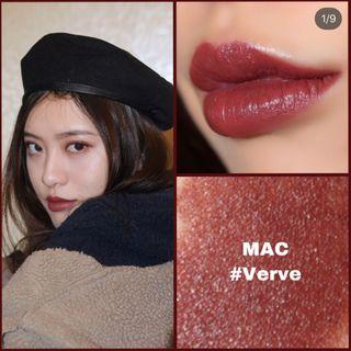 🚚 Mac verve 唇膏