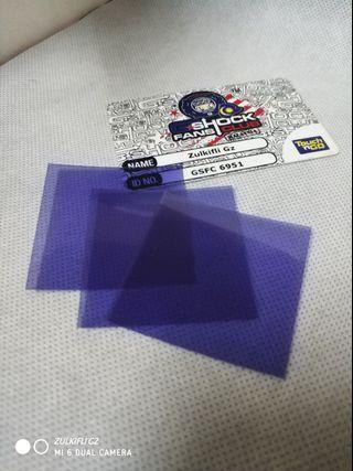Purple Polarizing Film 5*5cm