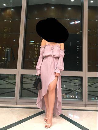 F21 Lilac Dress