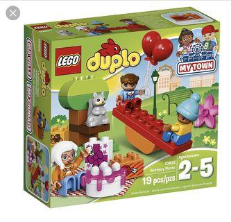 Lego Duplo My Town Birthday Picnic 10833