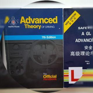 🚚 Driving Theory Books Advanced Theory and NEW EDITION Safety driving A guide to advance Theory