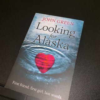 English Novel - John Green // LOOKING FOR ALASKA