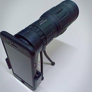 X10 ZOOM Mini Phone Camera Telescope with stand & clip