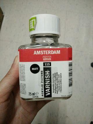 Amsterdam acrylic varnish