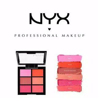 NYX Lip Palette The Pinks ORIGINAL 100%