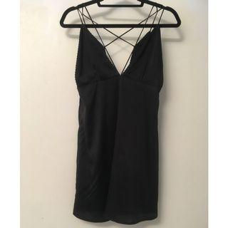 Silk slip dress size XS