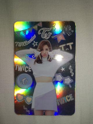 🚚 Twice Official Mina Special/Hologram photocard tt