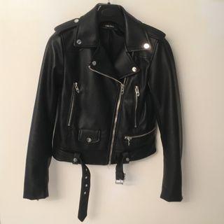 Zara faux leather jacket - size XS