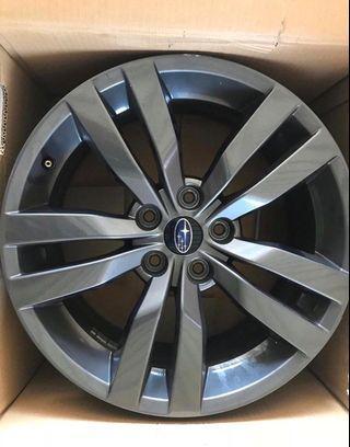 Subaru WRX Stock Rims