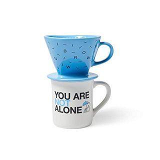 (全新未開)LINE FRIENDS 熊大 Helvetica系列咖啡濾杯組