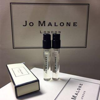 Jo Malone 香水 1.5ml 兩枝