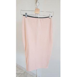 Missguided pink skirt bodycon