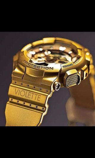 LIMITED EDITION GSHOCK Violette