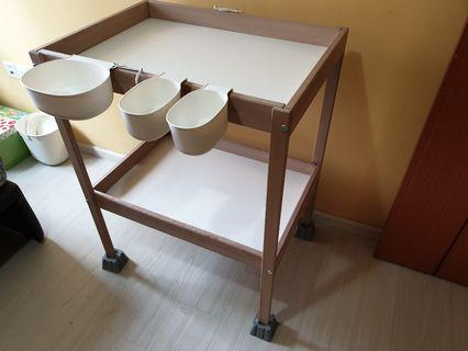 🚚 IKEA diaper changing table