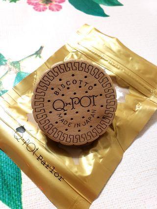 日本品牌Q-pot餅乾介指