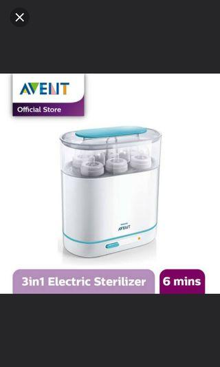 Steam Sterilizer avent 3in1