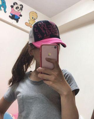桃紅款網帽(二手出清)