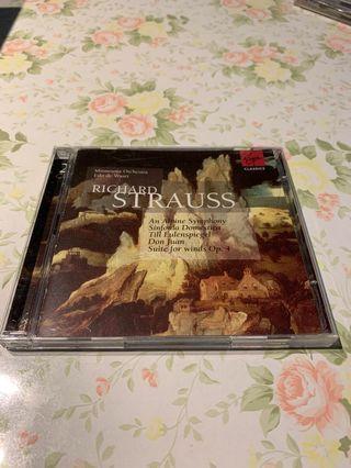 Richard Strauss An Alpine Symphony 2CDs 編號 014