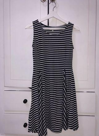 Colorbox Stripe Dress, NEVER BEEN USED
