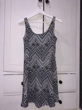 H&M Patterned Short Dress (HnM)