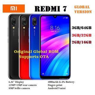Xiaomi Redmi 7 (64GB/3GB 32GB/3GB 16GB/2GB ) Global Version
