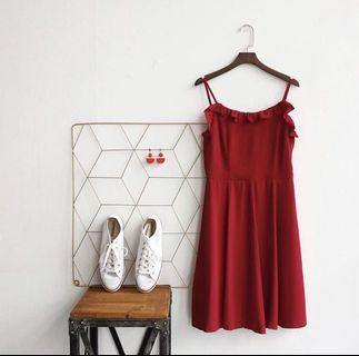 🚚 TTR Red dress